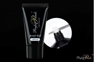 Akrilo gelis Milky White PolyGel | 30 ml