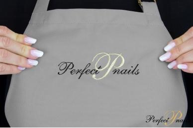 "Prijuostė ""Perfect Nails Dark Gray"" 3"
