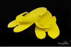 Šlepetės pedikiūrui vienkartinės Yellow