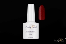 "UV/LED gelinis lakas ""Red Glitter Bright"" 