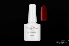 "UV/LED gelinis lakas ""Red Glitter Deep"" 