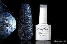 UV/LED gelio lako matinis viršutinis sluoksnis ''Neptune Top Coat'' | 7 ml