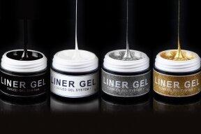 "UV/LED geliai nagų dizainui ""Liner-Spider Gel"" | 4vnt.x5g"