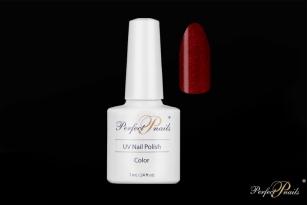 "UV/LED gelinis lakas ""Red Glitter Bright""   7ml"