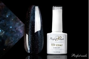 UV/LED gelio lako viršutinis sluoksnis ''Space Top Coat'' | 7 ml