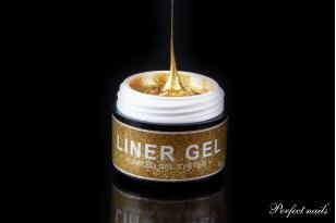 "UV/LED gelis nagų dizainui ""Liner-Spider Gel Gold""   5g"