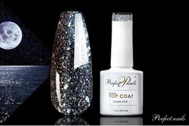 UV/LED gelio lako viršutinis sluoksnis ''Moon Top Coat''   7 ml