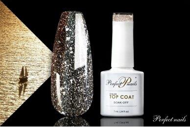 UV/LED gelio lako viršutinis sluoksnis ''Sun Top Coat'' | 7 ml