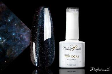 UV/LED gelio lako viršutinis sluoksnis ''Space Top Coat'' | 7 ml