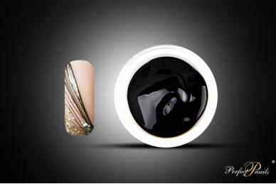 "UV/LED gelis nagų dizainui ""Liner-Spider Gel Black"" | 5g"