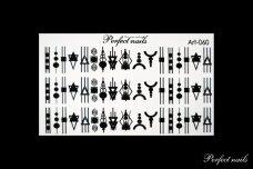 Vandeniniai lipdukai nagų dizainui | Art060